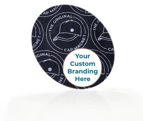TOCM Patch with Custom Branding Golf Ball Marker